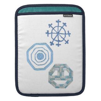 Sleeve Para iPad Luva especial da Eu-Almofada do floco de neve