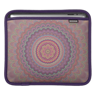 Sleeve Para iPad Mandala geométrica do Hippie