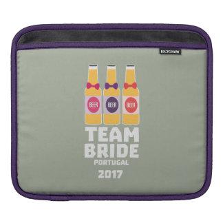 Sleeve Para iPad Noiva Portugal da equipe 2017 Zg0kx
