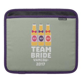 Sleeve Para iPad Noiva Vancôver da equipe 2017 Z13n1