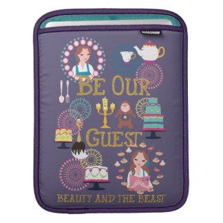Sleeve Para iPad O Belle   seja nossa nossa Convidado-Beleza e o