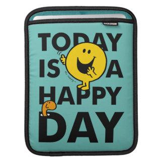 Sleeve Para iPad O Sr. Feliz | é hoje um dia feliz
