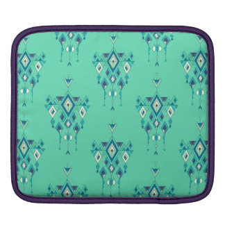 Sleeve Para iPad Ornamento asteca tribal étnico do vintage