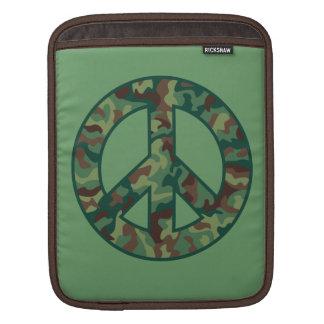Sleeve Para iPad Paz colorida de Camo