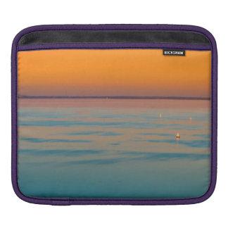 Sleeve Para iPad Por do sol sobre o lago Balaton, Hungria