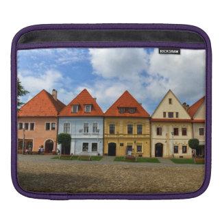 Sleeve Para iPad Praça da cidade velha em Bardejov, Slovakia