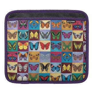 Sleeve Para iPad Retalhos da borboleta