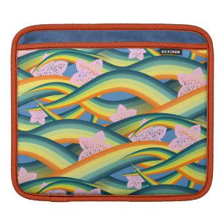 Sleeve Para iPad Tentáculos tropicais da ilha do verão