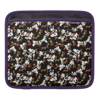 Sleeve Para iPad Teste padrão floral da colagem do Chinoiserie