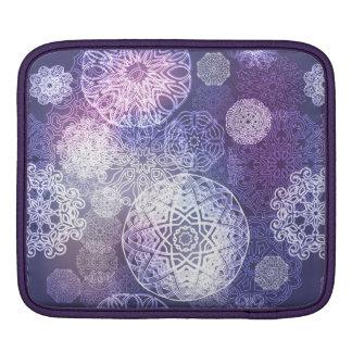 Sleeve Para iPad Teste padrão luxuoso floral da mandala