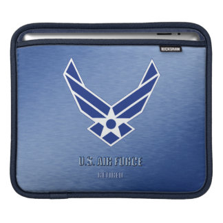 Sleeve Para iPad U.S. Luva aposentada força aérea do rickshaw dos