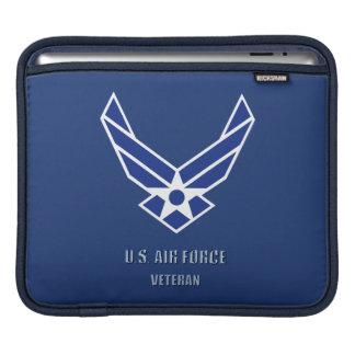Sleeve Para iPad U.S. Luva do rickshaw do veterano da força aérea