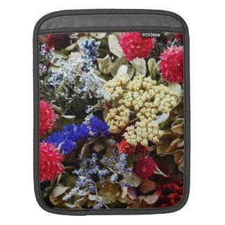 Sleeve Para iPad Variedade de flores secadas