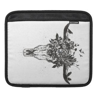 Sleeve Para iPad Verão inoperante (preto e branco)