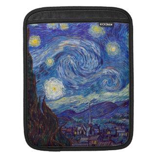 Sleeve Para iPad VINCENT VAN GOGH - noite estrelado 1889