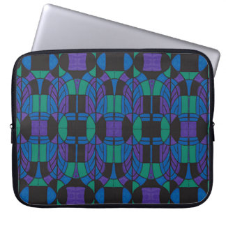 """Sleeve Para Laptop A bolsa de laptop 15"""" do neopreno arco de Deco"""