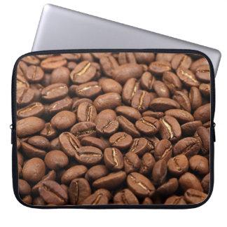 Sleeve Para Laptop A bolsa de laptop com impressão de feijões de café