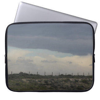 Sleeve Para Laptop A bolsa de laptop do céu nebuloso