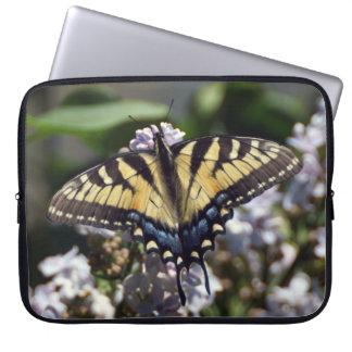 Sleeve Para Laptop A bolsa de laptop do neopreno da borboleta de