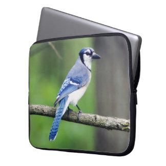 Sleeve Para Laptop A bolsa de laptop do neopreno de Jay azul