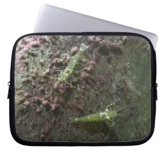 Sleeve Para Laptop A bolsa de laptop do neopreno dos camarões 10