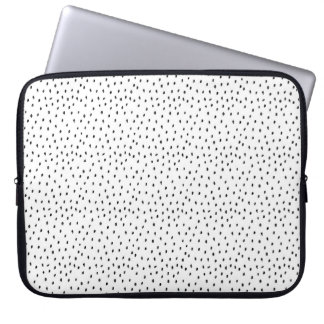Sleeve Para Laptop A bolsa de laptop do ponto do Doodle
