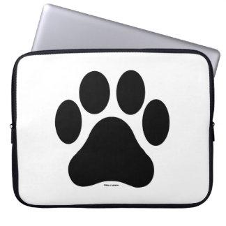 Sleeve Para Laptop A bolsa de laptop preto e branco do computador do