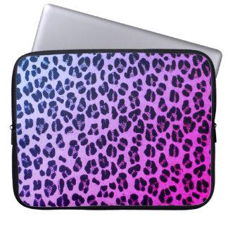 Sleeve Para Laptop A bolsa de laptop roxa feminino do impressão do
