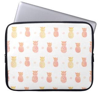 Sleeve Para Laptop Abacaxi fresco do verão