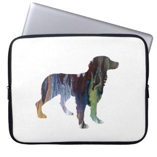 Sleeve Para Laptop Arte do cão de Brittany