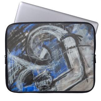 Sleeve Para Laptop As emoções abrem agora trabalhos de arte
