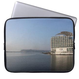 Sleeve Para Laptop Baía de Cardiff (verão)