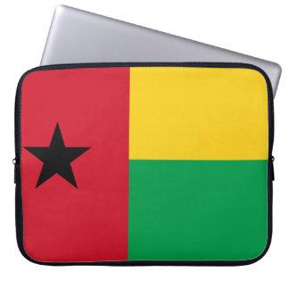 Sleeve Para Laptop Bandeira nacional do mundo de Guiné-Bissau