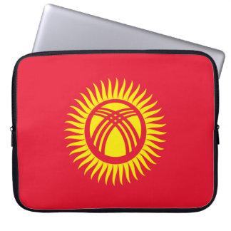 Sleeve Para Laptop Bandeira nacional do mundo de Quirguistão