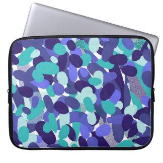 """Sleeve Para Laptop Caixa de vidro do laptop do neopreno da """"praia"""