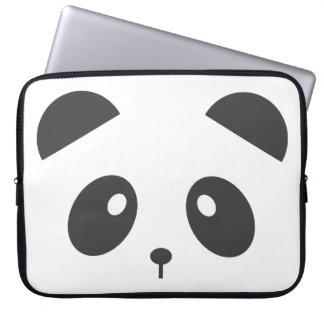 Sleeve Para Laptop Caixa do laptop da cara da panda