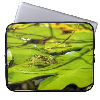 Sleeve Para Laptop Caixa do laptop do sapo