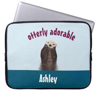 Sleeve Para Laptop Chalaça adorável de Otterly com a foto bonito da