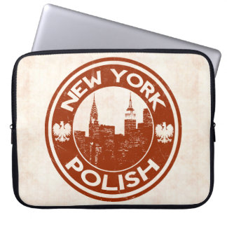 Sleeve Para Laptop Cobrir americano polonês do laptop de New York