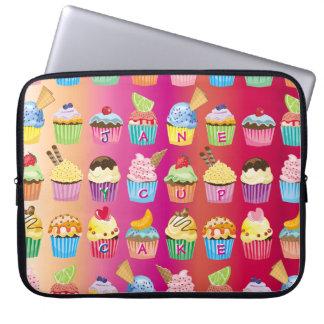 Sleeve Para Laptop Criar seus próprios deleites deliciosos do