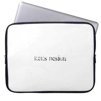 "Sleeve Para Laptop Design 15"" simples de Keks a bolsa de laptop do"