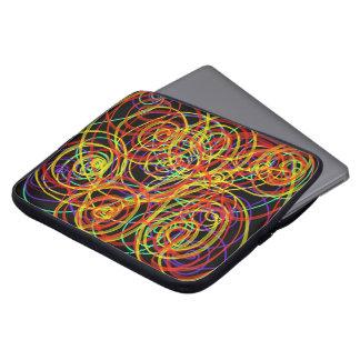 Sleeve Para Laptop Design Indie da arte abstracta dos redemoinhos