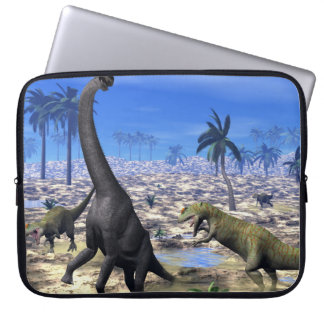 Sleeve Para Laptop Dinossauro de ataque do brachiosaurus do