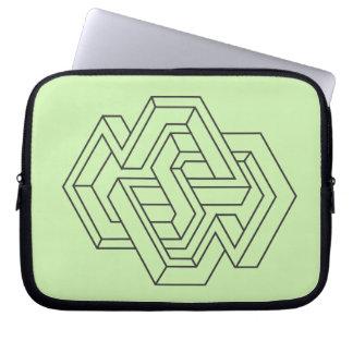 Sleeve Para Laptop Geometria impossíveis -4