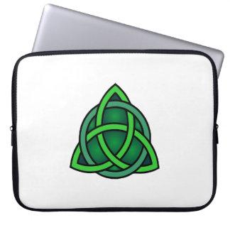 Sleeve Para Laptop gre irlandês pagão do símbolo antigo celta de