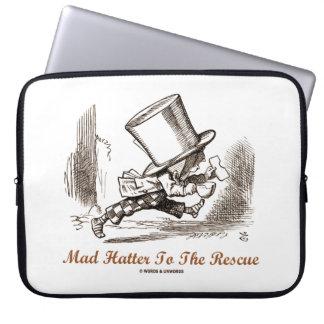 Sleeve Para Laptop Hatter louco ao sentimento do país das maravilhas