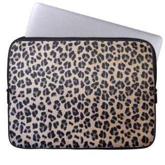 """Sleeve Para Laptop Impressão 13"""" do leopardo a bolsa de laptop do"""