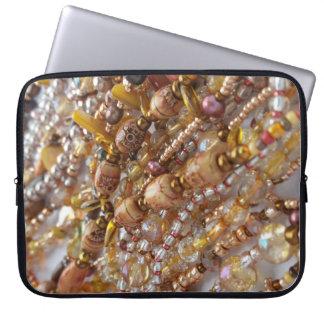 Sleeve Para Laptop Impressão do grânulo dos tons da terra da luva do
