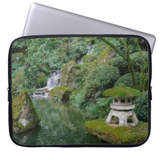 Sleeve Para Laptop Jardins japoneses calmos