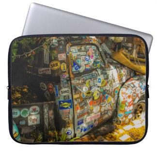 Sleeve Para Laptop Key West é arte, camionete velho